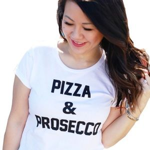 🖤 PIZZA 🍕 AND PROSECCO T-SHIRT!!